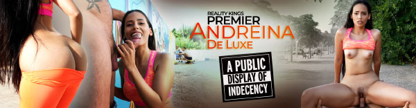Andreina De Luxe on Reality Kings