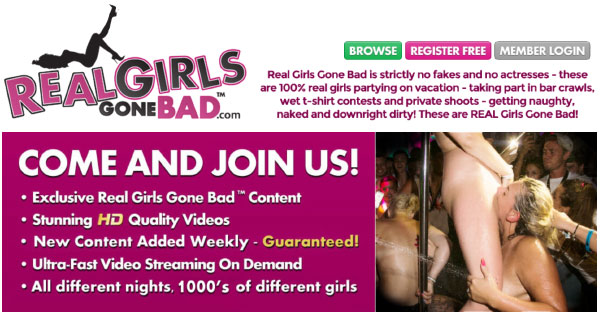 Real Girls Gone Bad price