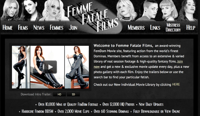 Femme Fatale Films preview