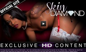 Best paid porn site with the official content featured by Skin Diamond