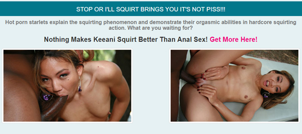 Stop Or I'll Squirt free video