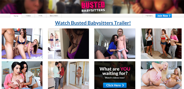 Busted Babysitters preview image