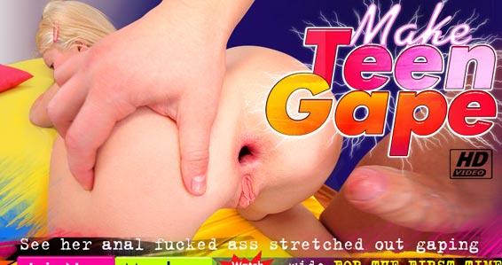 Make Teen Gape website