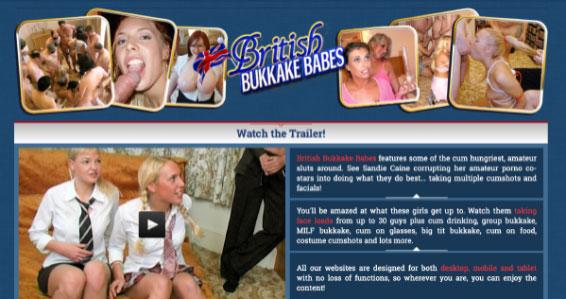 British Bukkake Babes ranking