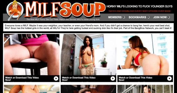MILF Soup website