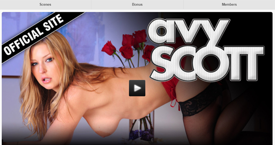 fine blondes porn site for Avy Scott fans