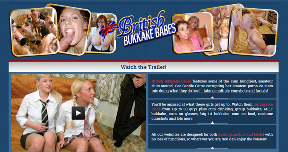 cheap british pay porn site for bukkake videos