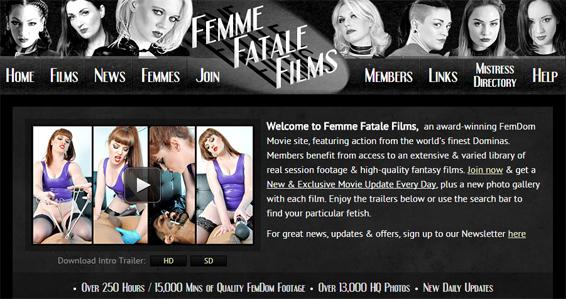 Femme Fatale Films review