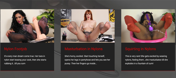 Popular pay adult site with foot fetish content.
