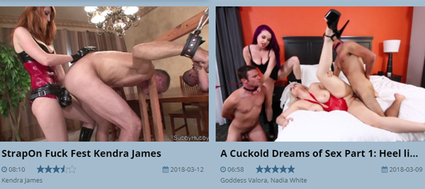 Good pay porn site with BDSM content.