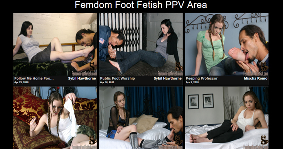Awesome foot fetish porn site for femdom xxx videos