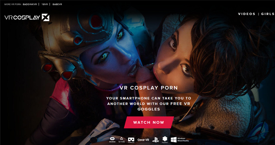 Nice cosplay porn site for VR xxx videos