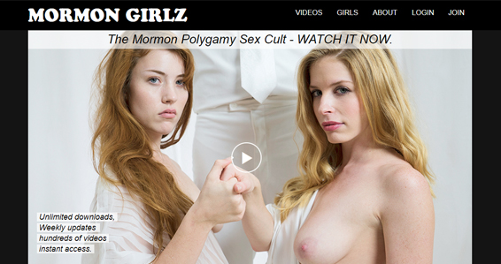 Great taboo porn site featuring hot mormon girls
