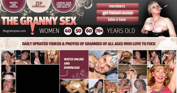 Top granny porn site for mature women