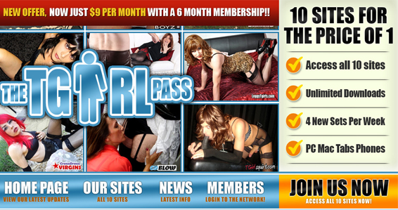 Excellent transsexual paid adult site with HD content