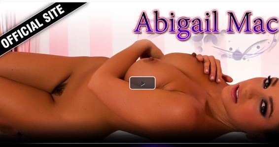 Best brunette pornstar Abigail Mac