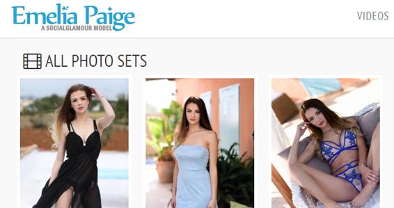 Top UK pornstar Emelia Paige
