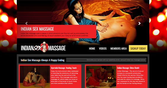 Excellent massage porn site with Indian couples in wild action
