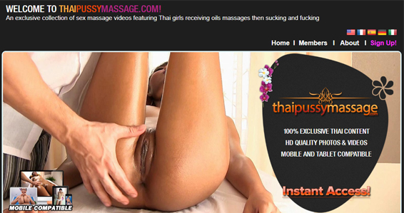 Top massage porn site where you can find hot Thai chicks
