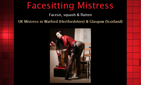 Facesitting Mistress Review