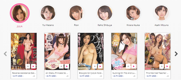Top paid porn site with Asian content.