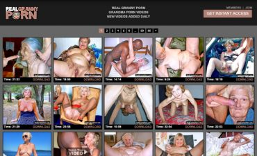 Real Granny Porn Review
